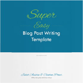 Super Easy Blog Post Writing Template