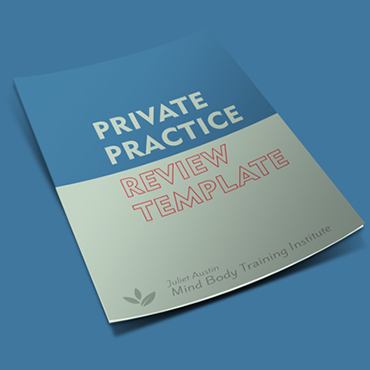 Private Practice Review Template